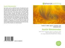 Couverture de Austin Westminster