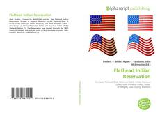 Bookcover of Flathead Indian Reservation