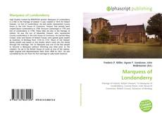 Portada del libro de Marquess of Londonderry