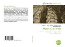 Capa do livro de Marquess Camden