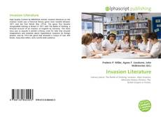 Capa do livro de Invasion  Literature