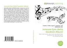 Capa do livro de Innocent Eyes (Delta Goodrem Album)