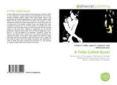 Capa do livro de A Tribe Called Quest