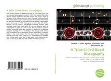 Capa do livro de A Tribe Called Quest Discography