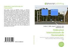 Fédération Internationale de l'Automobile的封面
