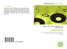 Bookcover of Lena Horne