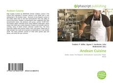 Bookcover of Andean Cuisine