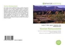 Couverture de Gestion Restauratoire