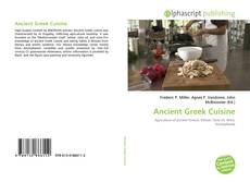 Обложка Ancient Greek Cuisine