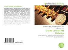 Bookcover of Grand Central Art Galleries