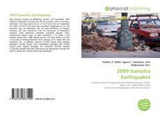 Bookcover of 2009 Sumatra Earthquakes