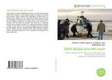Bookcover of 2007 Balad aircraft crash