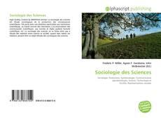 Обложка Sociologie des Sciences