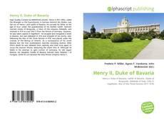 Обложка Henry II, Duke of Bavaria