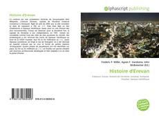 Обложка Histoire d'Erevan