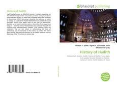 Portada del libro de History of Hadith