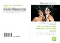 Couverture de Music of Dance Dance Revolution (2009 video games)