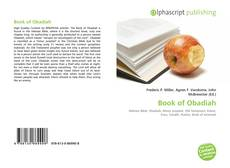 Bookcover of Book of Obadiah