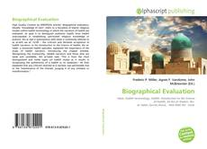 Bookcover of Biographical Evaluation