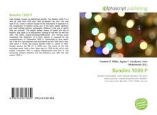 Bandini 1000 P kitap kapağı