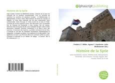 Buchcover von Histoire de la Syrie