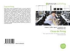 Coup de Poing kitap kapağı