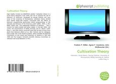 Cultivation Theory kitap kapağı