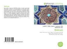 Buchcover von Mahram