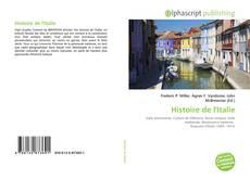 Bookcover of Histoire de l'Italie