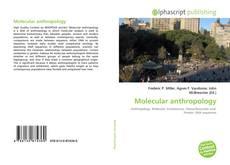 Обложка Molecular anthropology