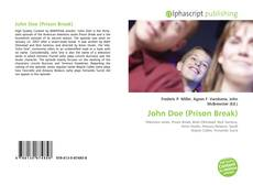 Bookcover of John Doe (Prison Break)
