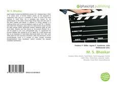Bookcover of M. S. Bhaskar