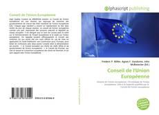 Portada del libro de Conseil de l'Union Européenne