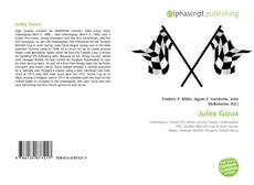 Bookcover of Jules Goux