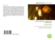 Capa do livro de Précarité