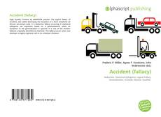 Bookcover of Accident (fallacy)