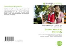 Capa do livro de Eastern Kentucky University