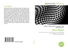 Bookcover of Louis Meyer