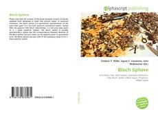 Bookcover of Bloch Sphere