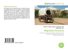 Bookcover of Migration Humaine