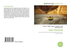 Bookcover of Lake Yosemite