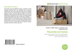 Bookcover of Pauvreté en France