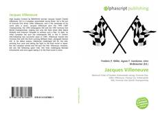 Bookcover of Jacques Villeneuve