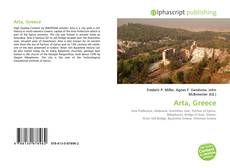 Bookcover of Arta, Greece