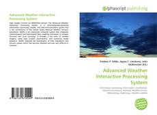 Bookcover of Advanced Weather Interactive Processing System