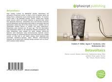 Bookcover of Betavoltaics