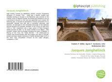 Bookcover of Jacques Jonghelinck