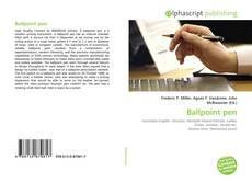 Обложка Ballpoint pen