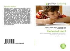 Bookcover of Mechanical pencil