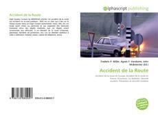 Couverture de Accident de la Route